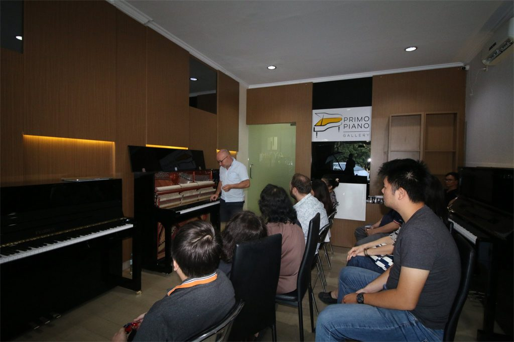 Event Inside of a Piano